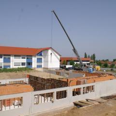 BV: TechniSat Außenanlagen/ Baumeisterarbeiten