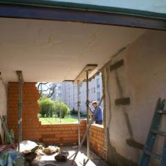 Sanierung Außenmauerwerk